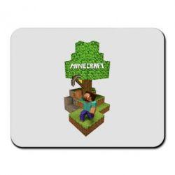Коврик для мыши Minecraft Steve - FatLine