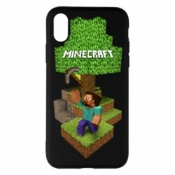 Чохол для iPhone X/Xs Minecraft Steve