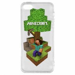 Чохол для iphone 5/5S/SE Minecraft Steve