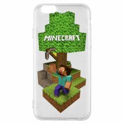 Чохол для iPhone 6/6S Minecraft Steve