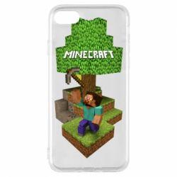 Чохол для iPhone 7 Minecraft Steve