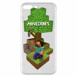 Чохол для iPhone 7 Plus Minecraft Steve