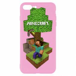 Чохол для iPhone 8 Plus Minecraft Steve