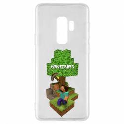 Чохол для Samsung S9+ Minecraft Steve