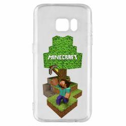 Чохол для Samsung S7 Minecraft Steve