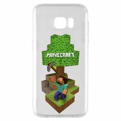 Чохол для Samsung S7 EDGE Minecraft Steve