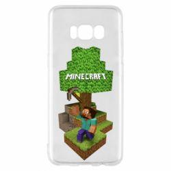 Чохол для Samsung S8 Minecraft Steve