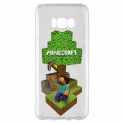 Чохол для Samsung S8+ Minecraft Steve