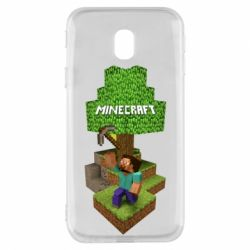 Чохол для Samsung J3 2017 Minecraft Steve