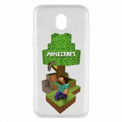 Чохол для Samsung J5 2017 Minecraft Steve