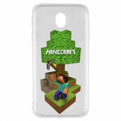 Чохол для Samsung J7 2017 Minecraft Steve
