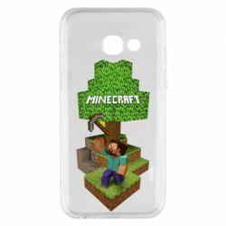 Чохол для Samsung A3 2017 Minecraft Steve