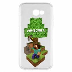 Чохол для Samsung A7 2017 Minecraft Steve