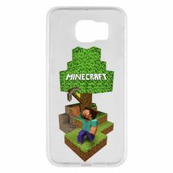 Чохол для Samsung S6 Minecraft Steve