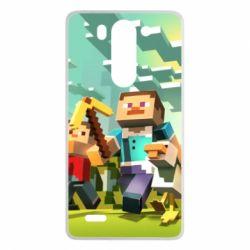 Чехол для LG G3 mini/G3s Minecraft1 - FatLine
