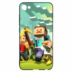 Чехол для Meizu U10 Minecraft1 - FatLine
