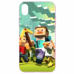 Чехол для iPhone XR Minecraft1 - FatLine