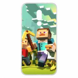 Чехол для Meizu 16 Minecraft1 - FatLine