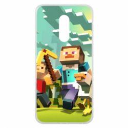 Чехол для Meizu 16 plus Minecraft1 - FatLine
