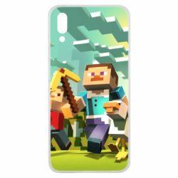 Чехол для Meizu E3 Minecraft1 - FatLine