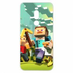 Чехол для Meizu Note 8 Minecraft1 - FatLine