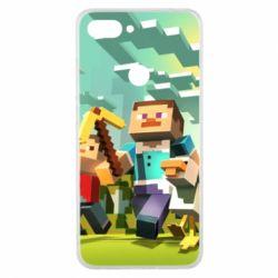 Чехол для Xiaomi Mi8 Lite Minecraft1 - FatLine