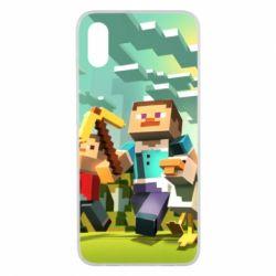 Чехол для Xiaomi Mi8 Pro Minecraft1 - FatLine