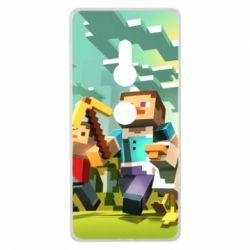 Чехол для Sony Xperia XZ2 Minecraft1 - FatLine
