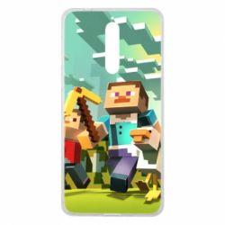 Чехол для Nokia 8 Minecraft1 - FatLine