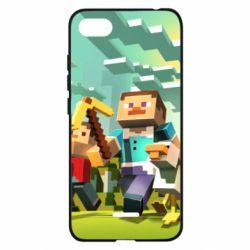Чехол для Xiaomi Redmi 6A Minecraft1 - FatLine