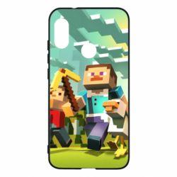 Чехол для Mi A2 Lite Minecraft1 - FatLine