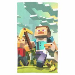 Полотенце Minecraft1 - FatLine