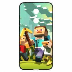 Чехол для Xiaomi Redmi 5 Minecraft1 - FatLine