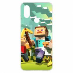 Чехол для Xiaomi Mi A2 Minecraft1 - FatLine