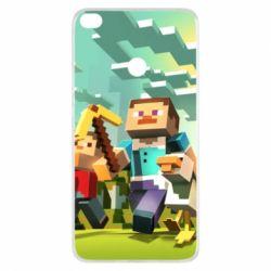 Чехол для Xiaomi Mi Max 2 Minecraft1 - FatLine