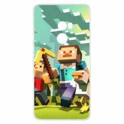 Чехол для Xiaomi Mi Mix 2 Minecraft1 - FatLine