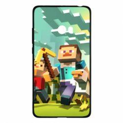 Чехол для Xiaomi Mi Note 2 Minecraft1 - FatLine