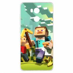 Чехол для Xiaomi Redmi 4 Pro/Prime Minecraft1 - FatLine