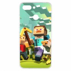 Чехол для Xiaomi Redmi 6 Minecraft1 - FatLine