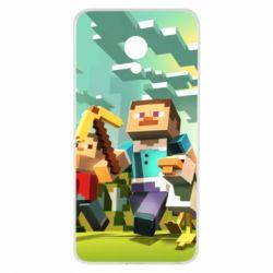 Чехол для Meizu M5 Minecraft1 - FatLine