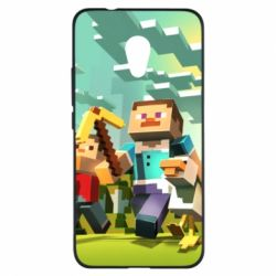 Чехол для Meizu M5s Minecraft1 - FatLine