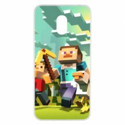 Чехол для Meizu M6 Minecraft1 - FatLine