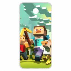 Чехол для Meizu M6s Minecraft1 - FatLine
