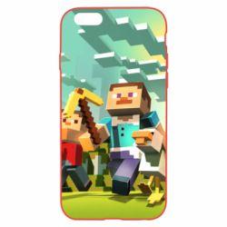 Чехол для iPhone 6/6S Minecraft1 - FatLine