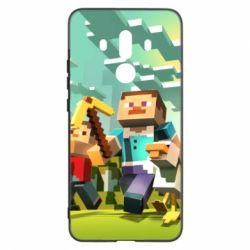 Чехол для Huawei Mate 10 Pro Minecraft1 - FatLine