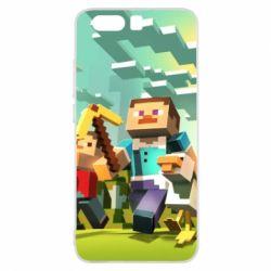 Чехол для Huawei P10 Minecraft1 - FatLine