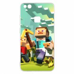 Чехол для Huawei P10 Lite Minecraft1 - FatLine