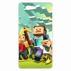 Чехол для Sony Xperia Z3 mini Minecraft1 - FatLine