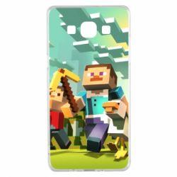 Чехол для Samsung A5 2015 Minecraft1 - FatLine