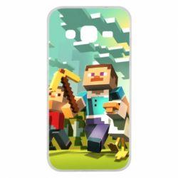 Чехол для Samsung J2 2015 Minecraft1 - FatLine